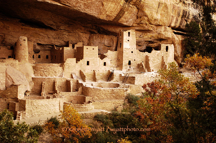 Cliff Palace, Mesa Verde, Colorado, ruins, Puebloan photo