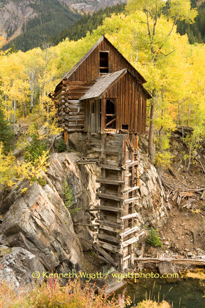 Kenneth Wyatt Photography Colorado Crystal Mill