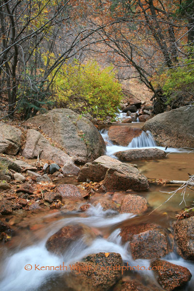 Colorado Springs, Cheyenne Canyon, Colorado, water, waterfal photo