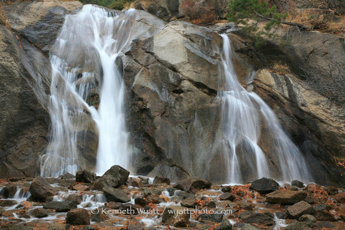 Helen Hunt Falls, Cheyenne Canyon, Colorado Springs, Colorad photo
