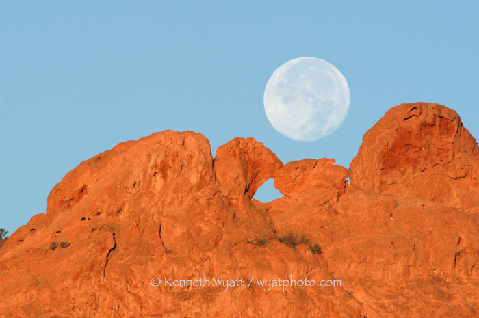 Garden of the Gods, Kissing Camels, Colorado Springs, Colora photo