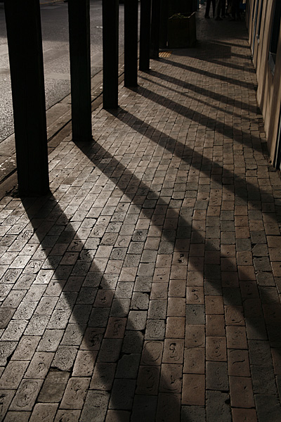 Santa Fe, shadows photo