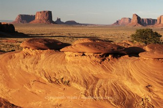 Monument Valley, Mystery Valley, Arizona, desert, sunset