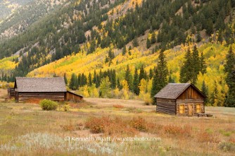ghost town, Ashcroft, Colorado, Aspen, fall color, fall, tre
