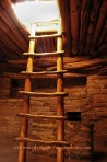 Mease Verde, Colorado, kiva, ladder, Puebloan