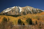 Beckwith Mountain, Crested Butte, Colorado, Kebler Pass, fal